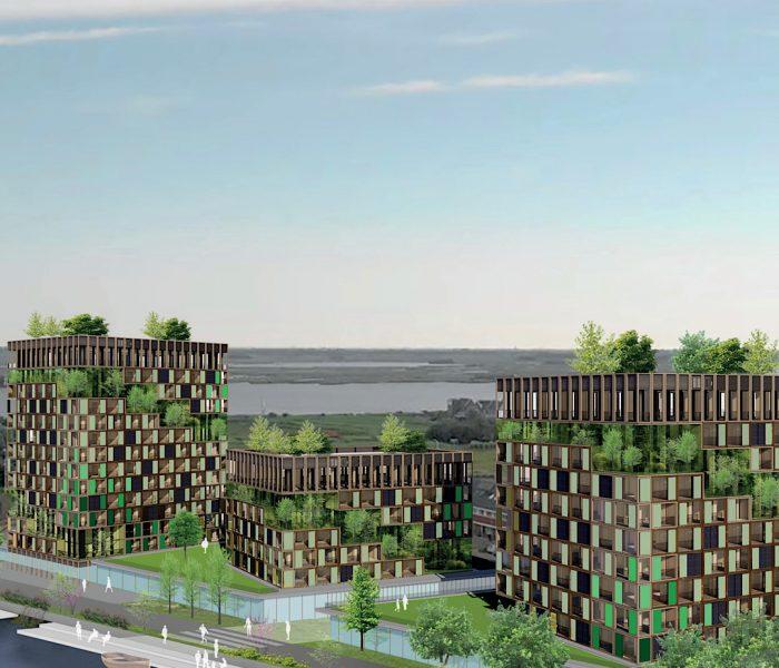 Woningbouwplan in Wormerveer